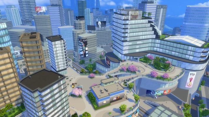Como foi construída San Myshuno no The Sims 4 Vida na Cidade