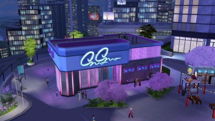 Cante com toda a alma no karaokê do The Sims 4 Vida na Cidade