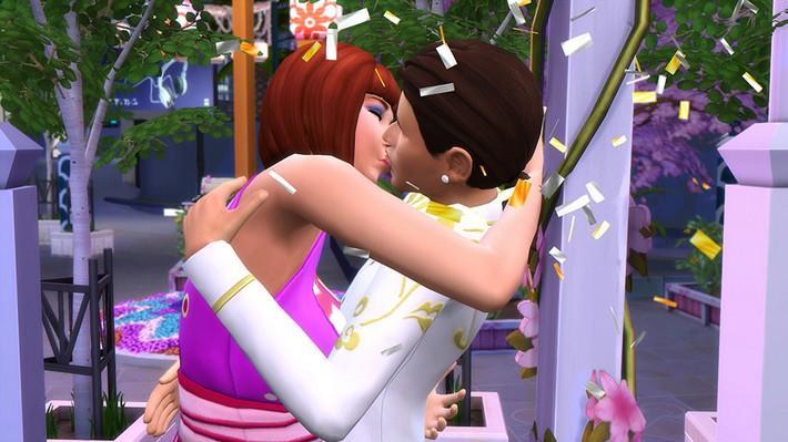 Encontre o amor verdadeiro no Festival Romântico em The Sims 4 Vida na Cidade