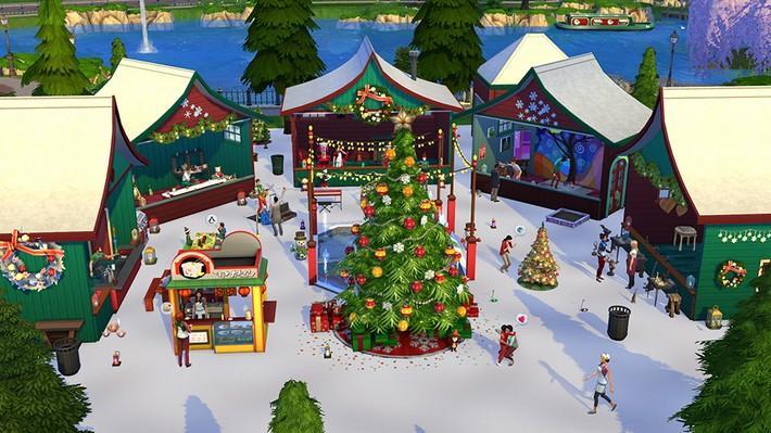 5 incríveis lotes de fim de ano para deixar o mundo dos seus Sims mais festivo! 8