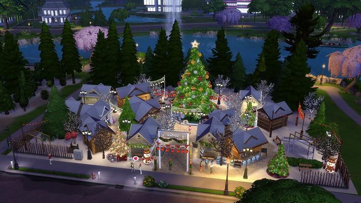 5 incríveis lotes de fim de ano para deixar o mundo dos seus Sims mais festivo! 6