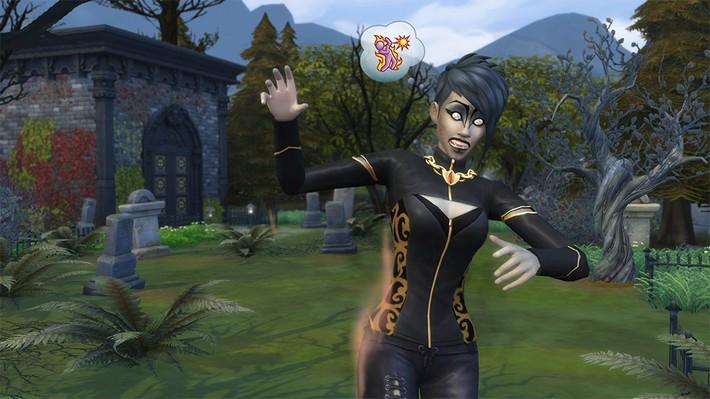 Ganhe poderes ancestrais com o The Sims 4 Pacote de Jogo Vampiros