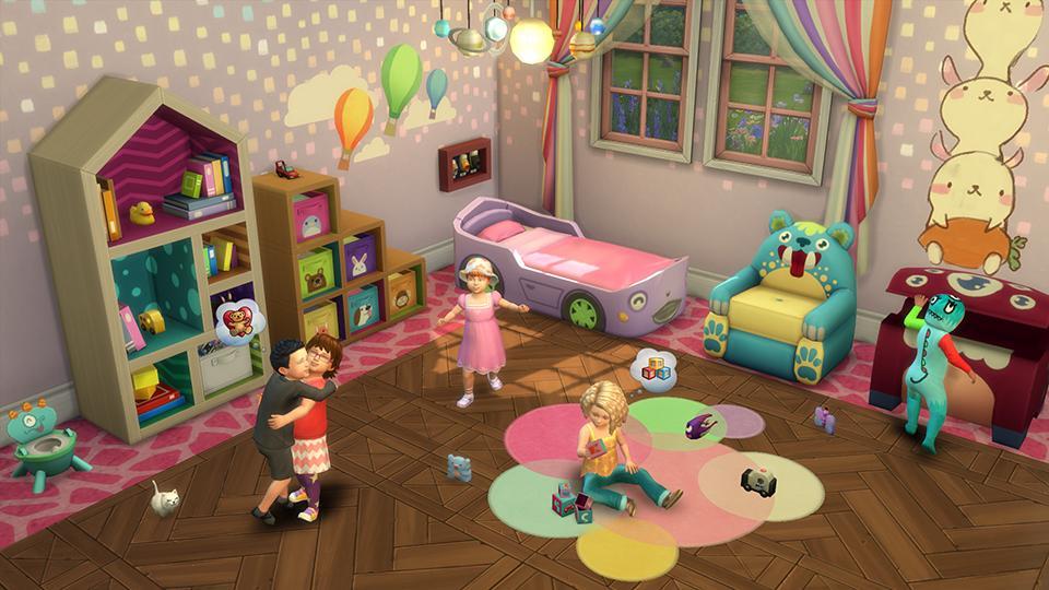 Até que enfim os bebês chegaram no The Sims 4