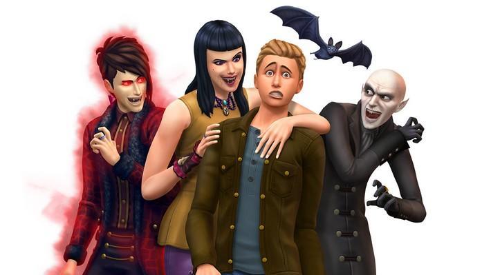 Viva para sempre com o The Sims 4 Pacote de Jogo Vampiros!