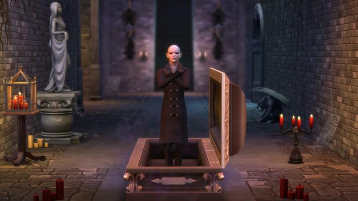 6 coisas para se empolgar com o The Sims 4 Pacote de Jogo Vampiros 11