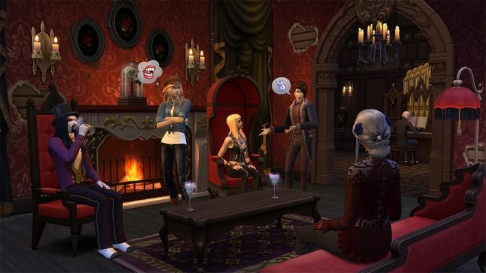6 criações sensacionais com o The Sims 4 Pacote de Jogo Vampiros! 2