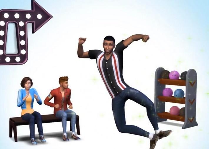 The Sims 4 terá Boliche em nova Coleção de Objetos