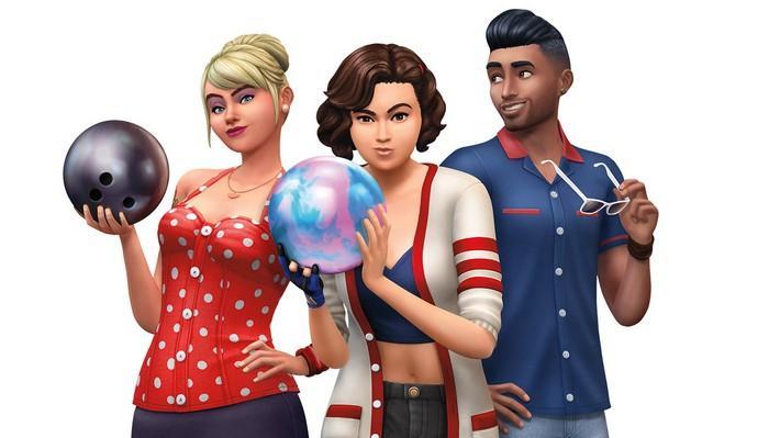 Vá para as pistas com o The Sims 4 Noite de Boliche Coleção de Objetos!