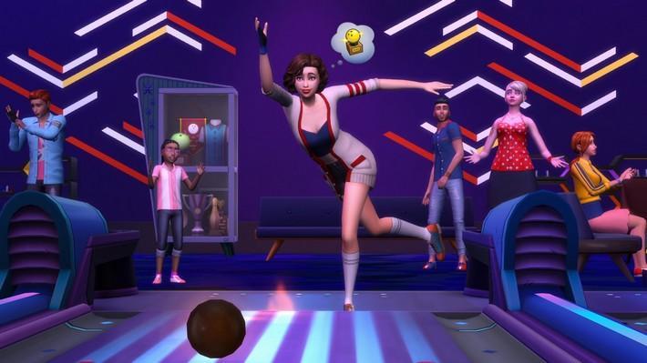 STRIKE! The Sims 4 Noite de Boliche já está disponível!