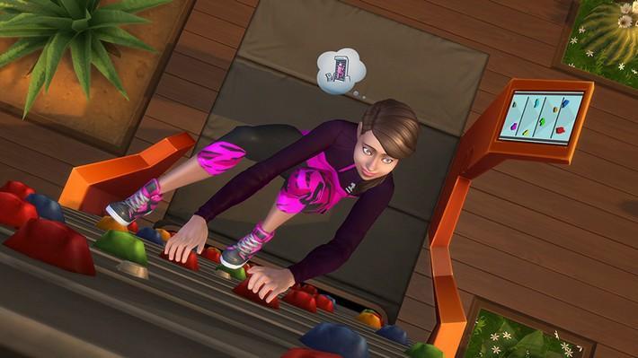Comece a suar com o The Sims 4 Fitness Coleção de Objetos, compre já!