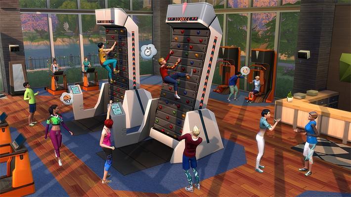 Fique em forma com The Sims™ 4 Fitness Coleção de Objetos!