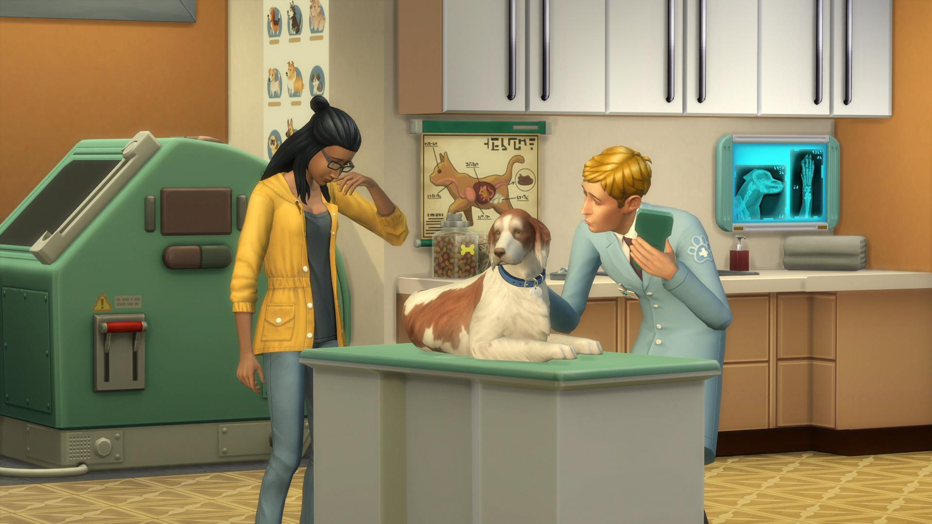 Abra sua própria Clínica Veterinária em The Sims 4! 4