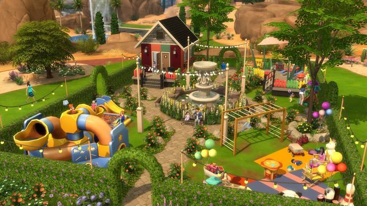 Lindas construções de The Sims 4 que vai amolecer seu coração 8