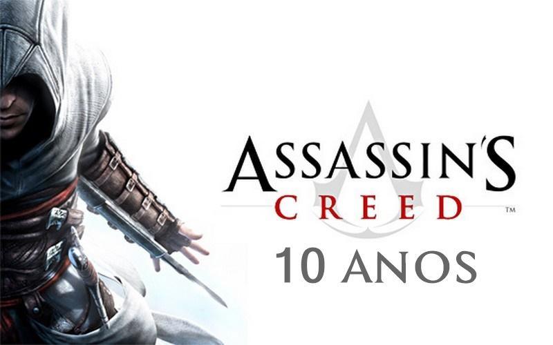 10 anos de Assassin's Creed: Conheça a história da saga!