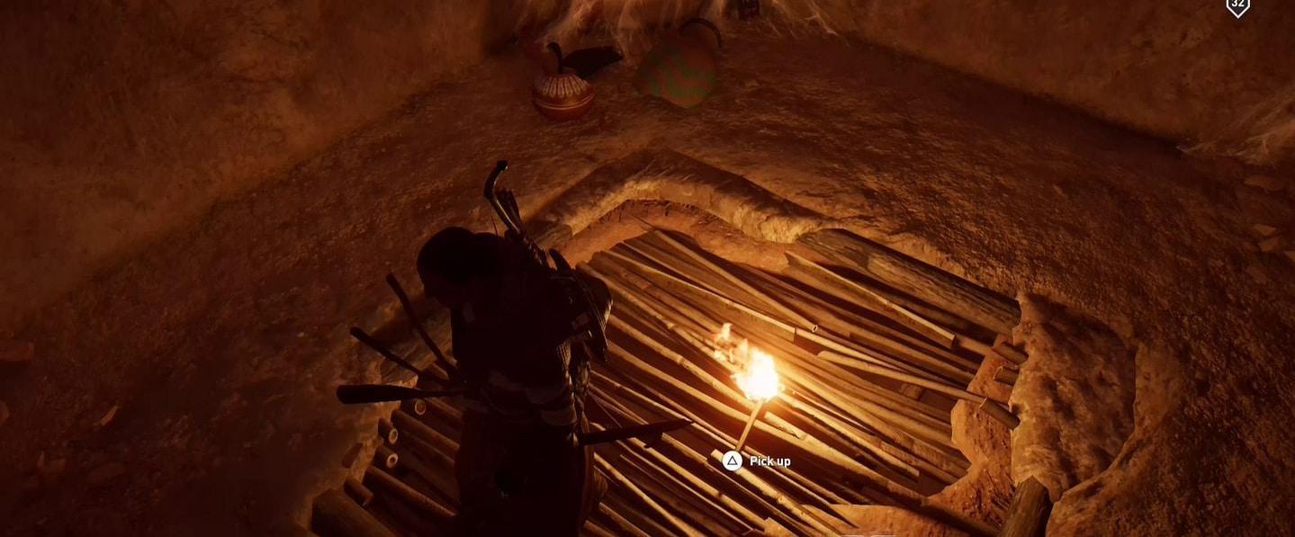 Localização e soluções das tumbas secretas em Assassin's Creed Origins 51