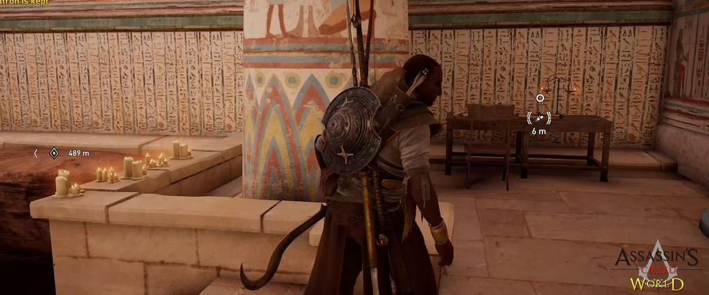 Localização e solução de todos os Papiros em Assassin's Creed Origins 140