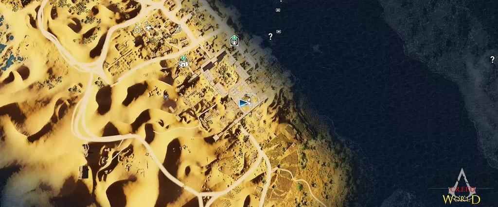 Localização e solução de todos os Papiros em Assassin's Creed Origins 143