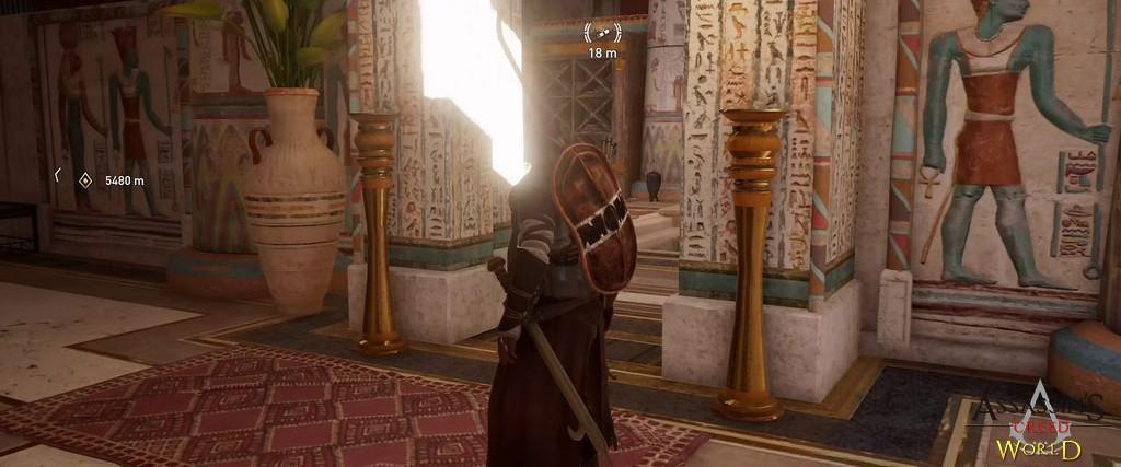 Localização e solução de todos os Papiros em Assassin's Creed Origins 148