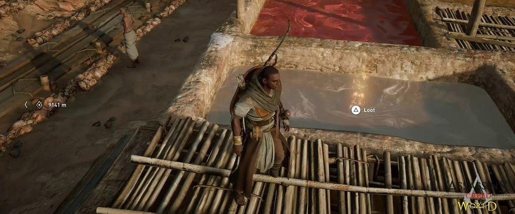 Localização e solução de todos os Papiros em Assassin's Creed Origins 150