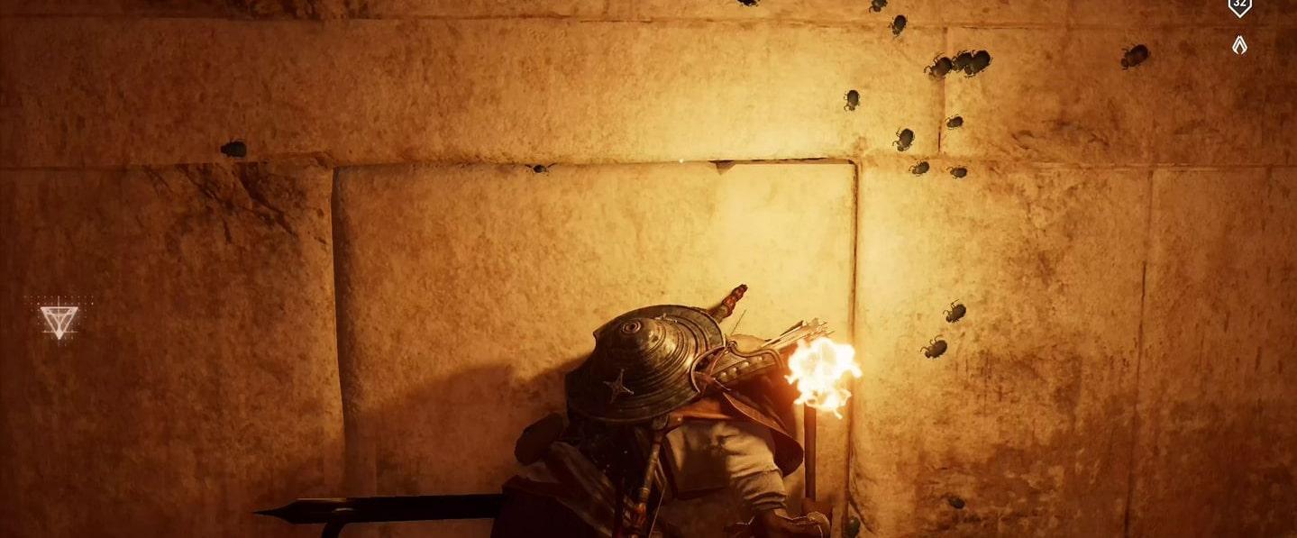 Localização e soluções das tumbas secretas em Assassin's Creed Origins 55