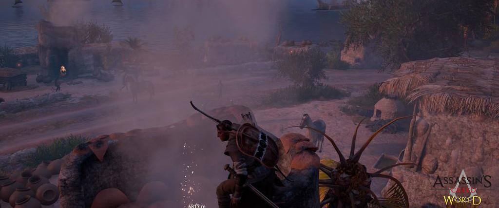 Localização e solução de todos os Papiros em Assassin's Creed Origins 158