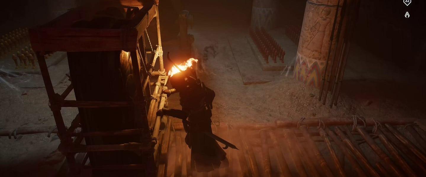 Localização e soluções das tumbas secretas em Assassin's Creed Origins 56