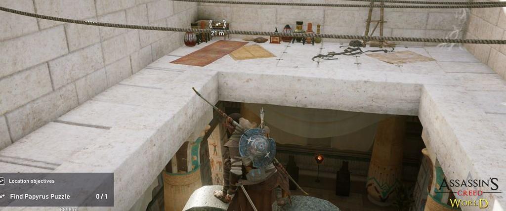 Localização e solução de todos os Papiros em Assassin's Creed Origins 160