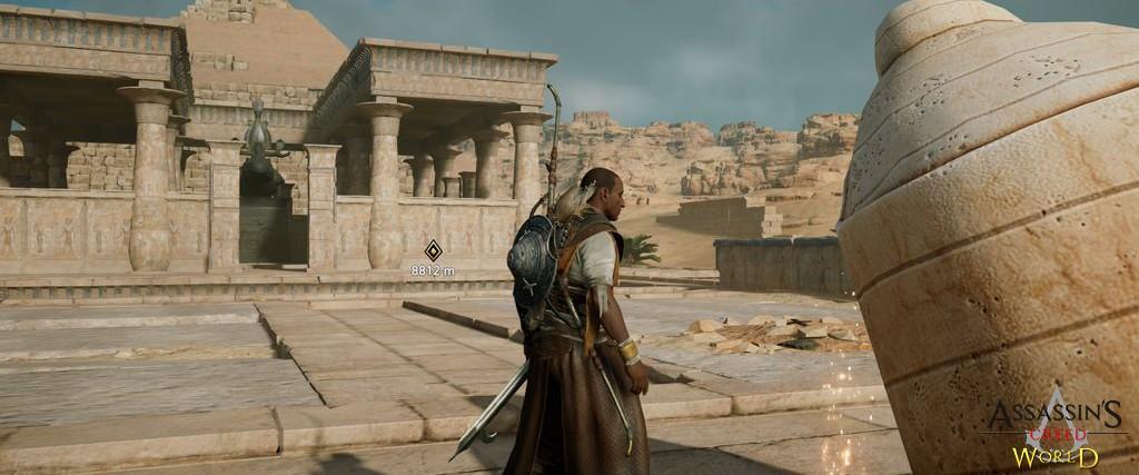 Localização e solução de todos os Papiros em Assassin's Creed Origins 162