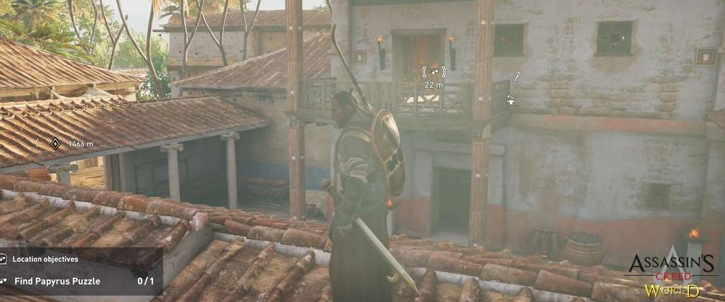 Localização e solução de todos os Papiros em Assassin's Creed Origins 164
