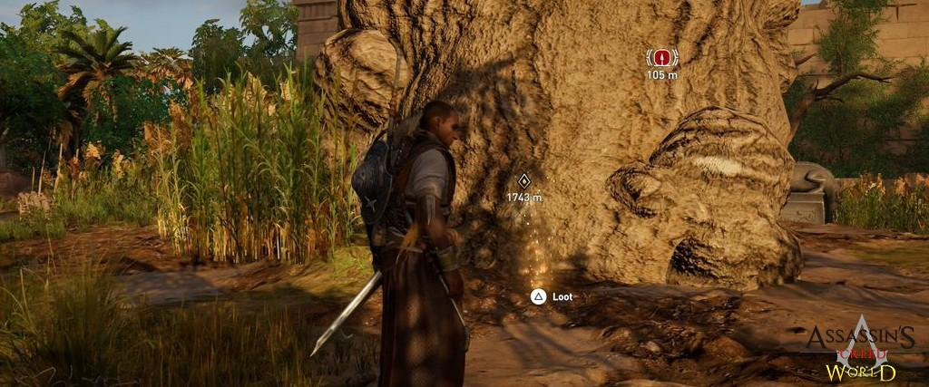 Localização e solução de todos os Papiros em Assassin's Creed Origins 166