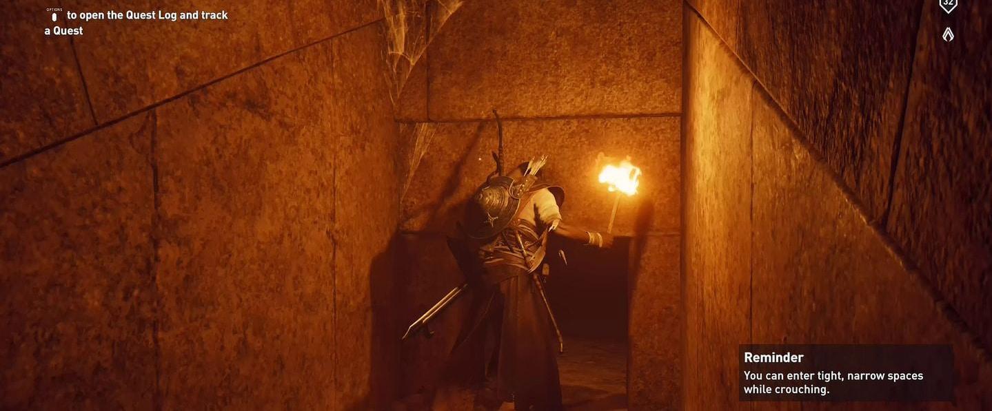 Localização e soluções das tumbas secretas em Assassin's Creed Origins 58