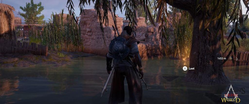 Localização e solução de todos os Papiros em Assassin's Creed Origins 174