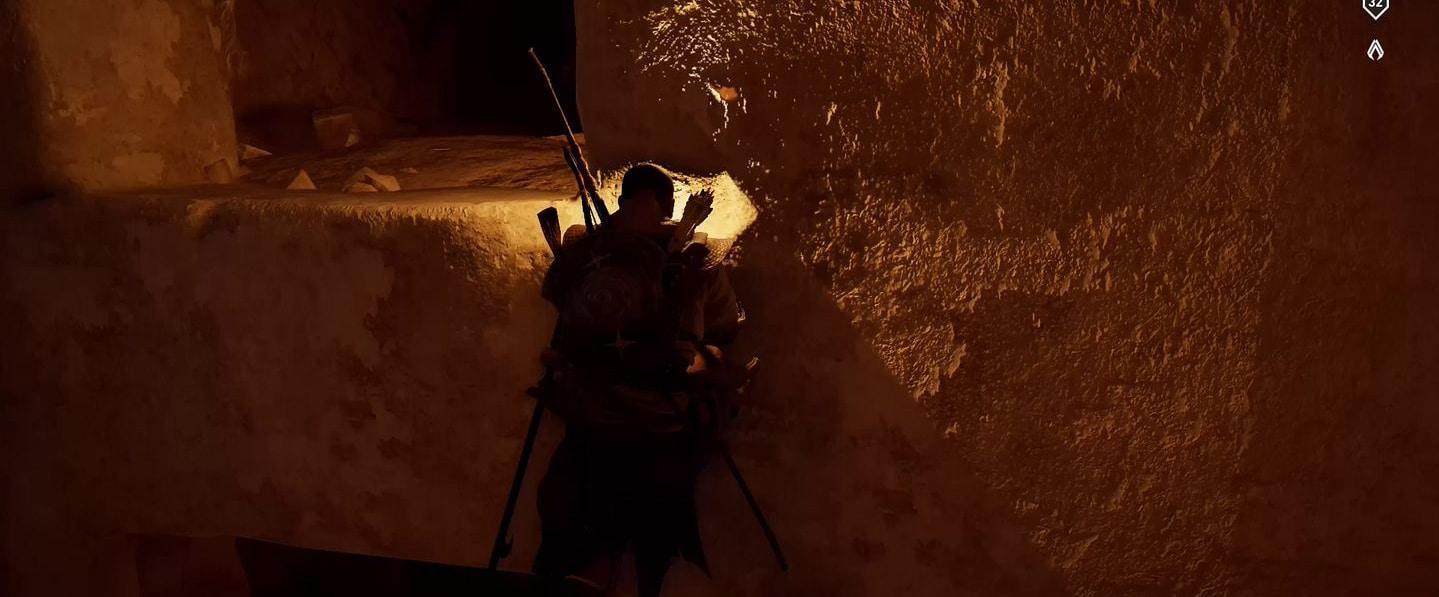 Localização e soluções das tumbas secretas em Assassin's Creed Origins 60