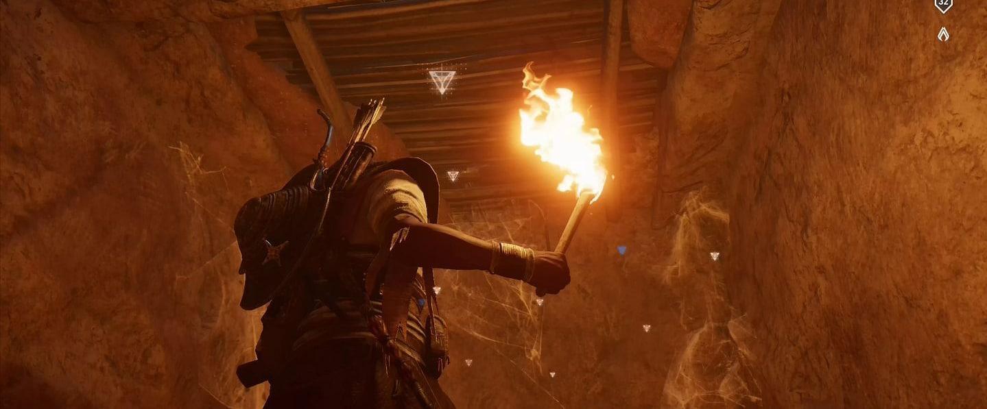 Localização e soluções das tumbas secretas em Assassin's Creed Origins 61