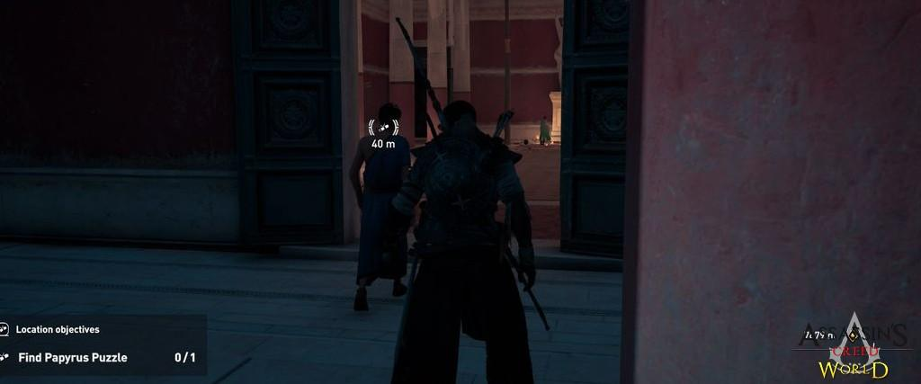 Localização e solução de todos os Papiros em Assassin's Creed Origins 180