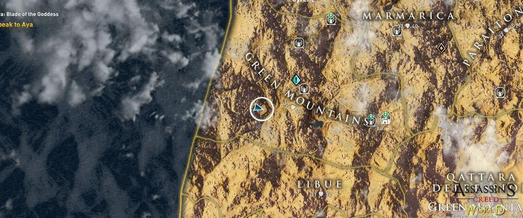 Localização e solução de todos os Papiros em Assassin's Creed Origins 181