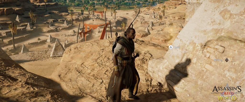Localização e solução de todos os Papiros em Assassin's Creed Origins 186
