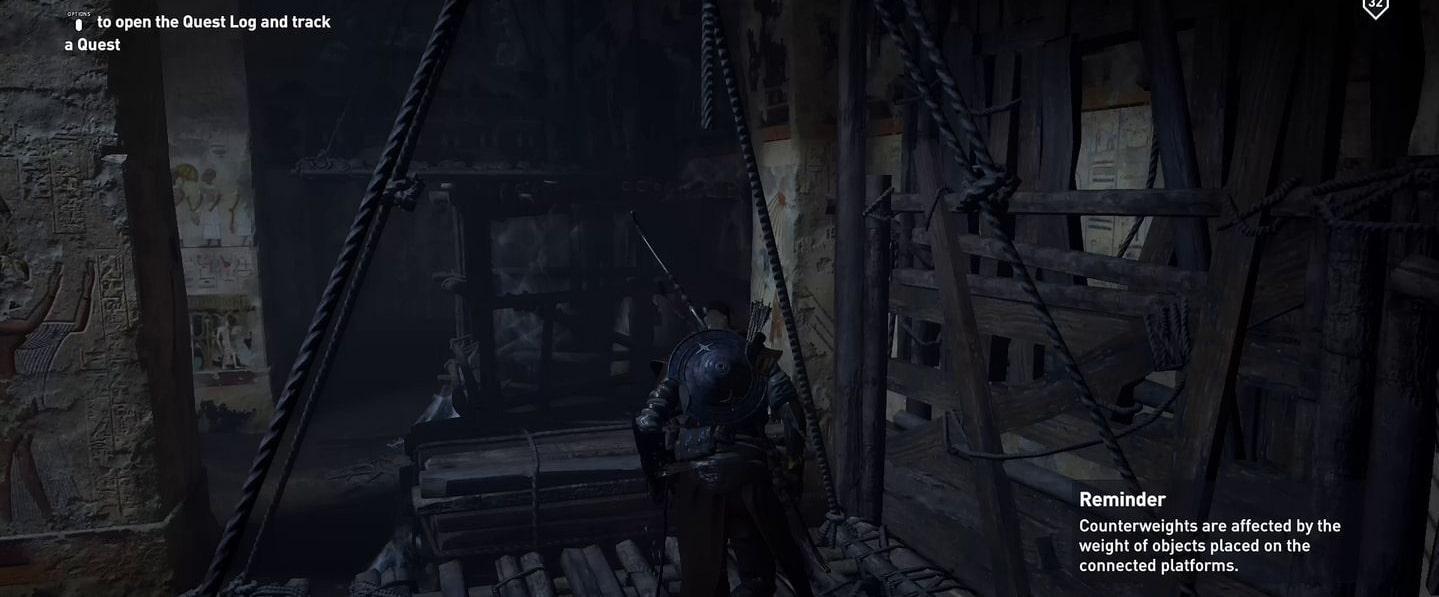Localização e soluções das tumbas secretas em Assassin's Creed Origins 63