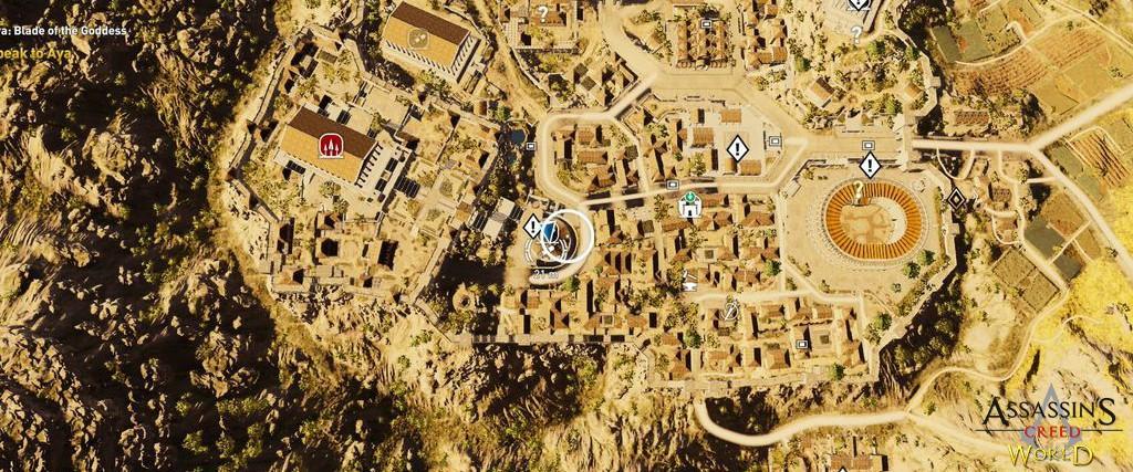 Localização e solução de todos os Papiros em Assassin's Creed Origins 187