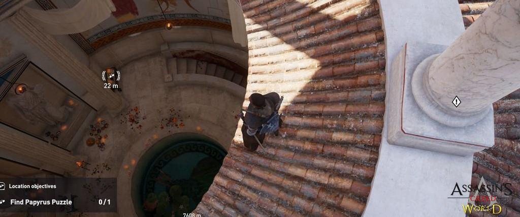 Localização e solução de todos os Papiros em Assassin's Creed Origins 188