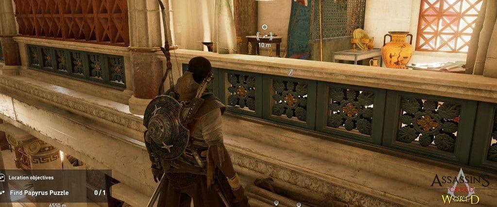 Localização e solução de todos os Papiros em Assassin's Creed Origins 192