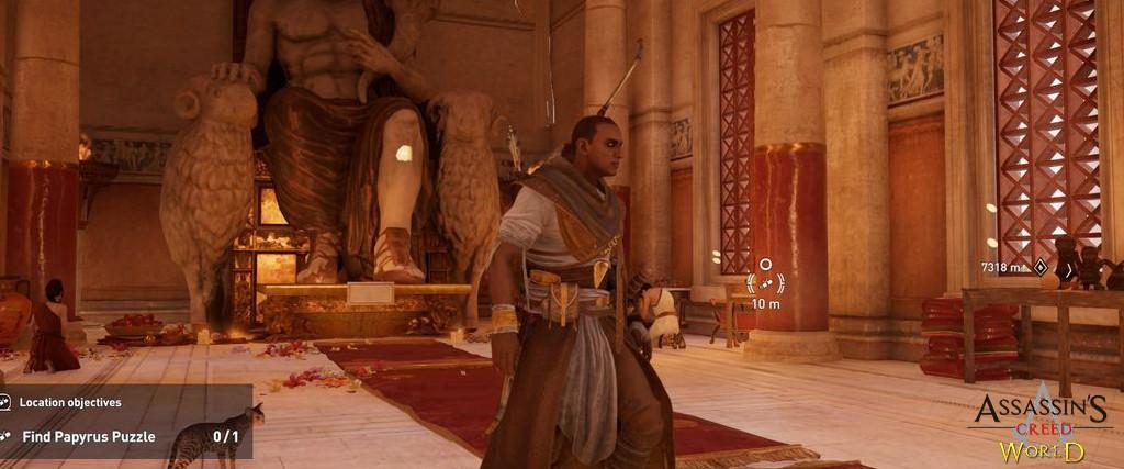 Localização e solução de todos os Papiros em Assassin's Creed Origins 196