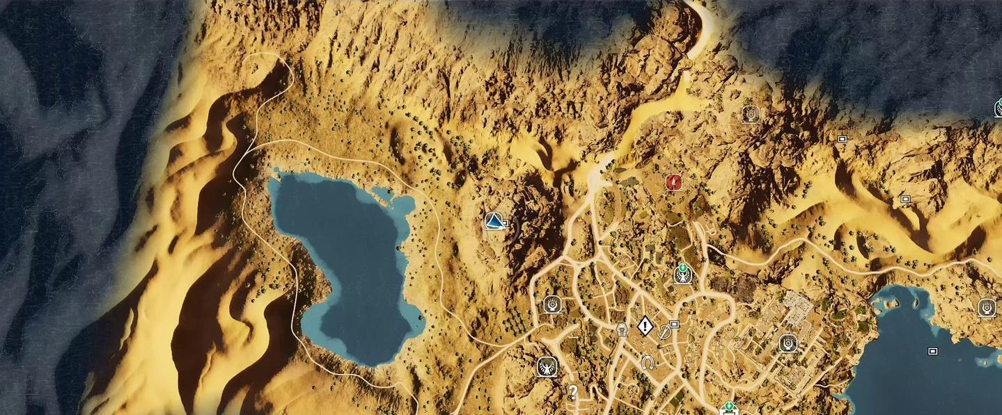 Localização e soluções das tumbas secretas em Assassin's Creed Origins 71