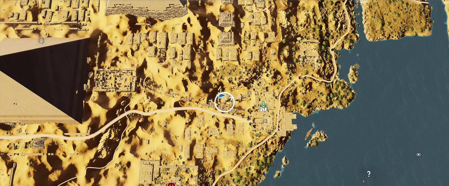 Localização e soluções das tumbas secretas em Assassin's Creed Origins 73