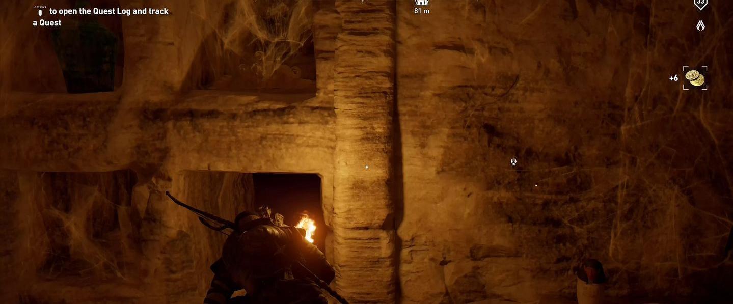 Localização e soluções das tumbas secretas em Assassin's Creed Origins 74