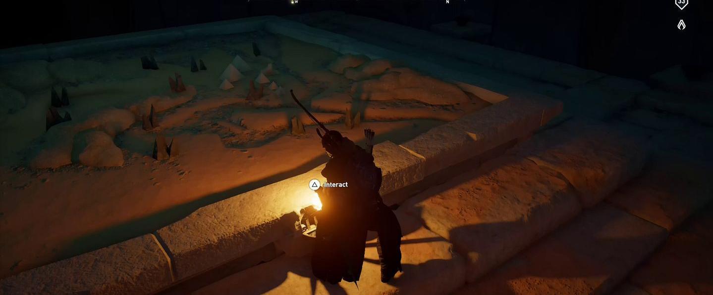 Localização e soluções das tumbas secretas em Assassin's Creed Origins 75