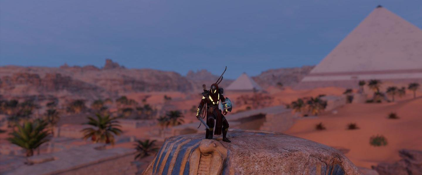 Localização e soluções das tumbas secretas em Assassin's Creed Origins 76
