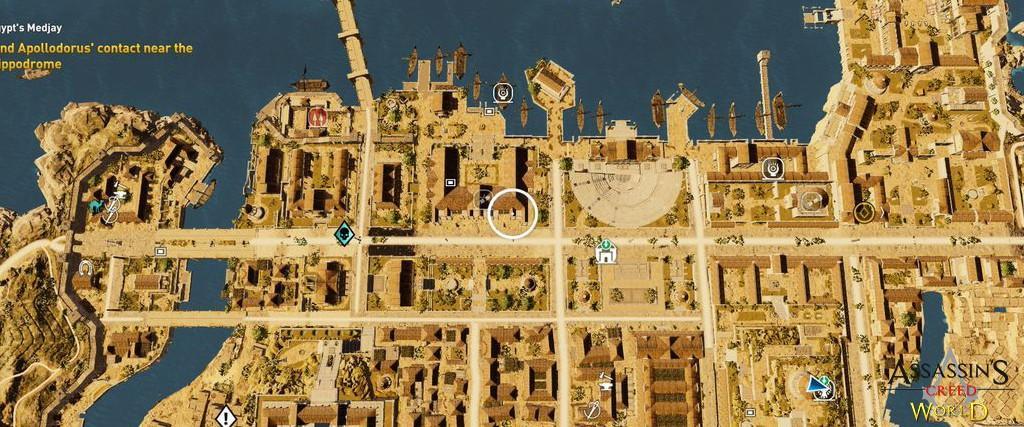 Localização e solução de todos os Papiros em Assassin's Creed Origins 111