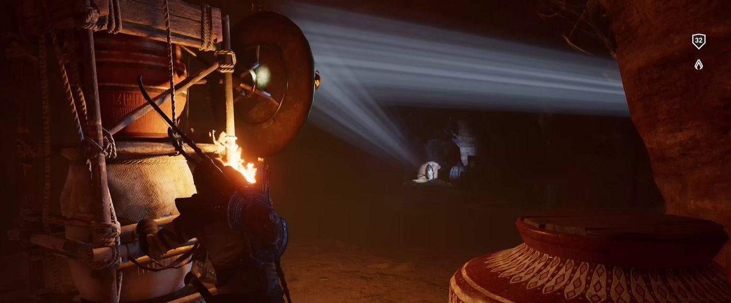 Localização e soluções das tumbas secretas em Assassin's Creed Origins 45