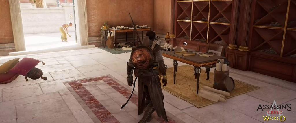 Localização e solução de todos os Papiros em Assassin's Creed Origins 116
